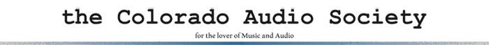Colorado Audio Society